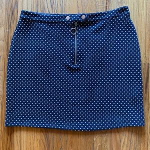 TopShop Polka Dot Mini Skirt - NWT